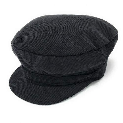 Cord Cadet Cap - Black or Navy